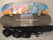 Новые!Скейт 79х20 см +рюкзак+защита