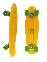 Скейт Longboard Penny желтый 28